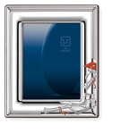 STERLING SILVER Picture Frame  GRADUATION.  Made in ITALY