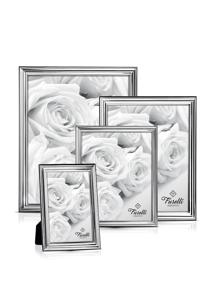 Exquisite STERLING SILVER Picture Frame. Made in ITALY