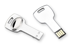 SILVER PLATED USB FLASH DRIVE 4GB. Engraveable. Made in ITALY
