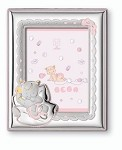 STERLING SILVER Picture Frame NAP TIME. Made in ITALY