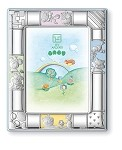 STERLING SILVER Picture Frame FRIENDS. Made in ITALY