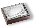 ELEGANT STERLING SILVER JEWELRY BOX ORGANIZERILV. Made in ITALY