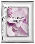 STERLING SILVER Picture Frame 'LILIES' (5