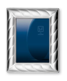 STERLING SILVER PICTURE FRAME and MIRROR.   Made in ITALY