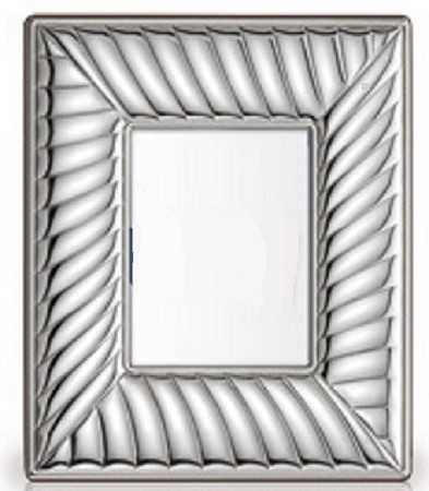 "Luxury Collection: .925 STERLING SILVER PICTURE FRAME (5"" x 7""). Made in ITALY"